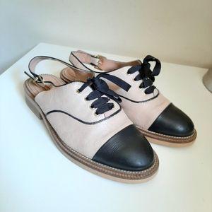 ❤HOST PICK❤Kurt Geiger Two- toned Open Back Loafer